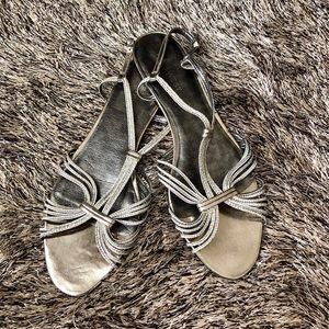 NWOT Nine West Flat Sandals